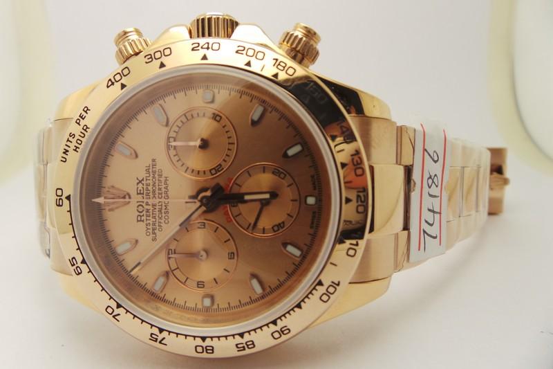 replique montres Rolex rose or