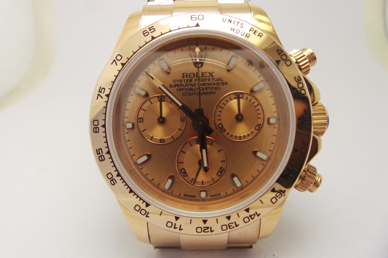 replique Rolex Daytona rose or